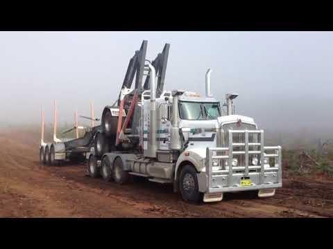 World Biggest Carriers Transformers Trucks Oversize Load Timber Transportation Australian Road Train