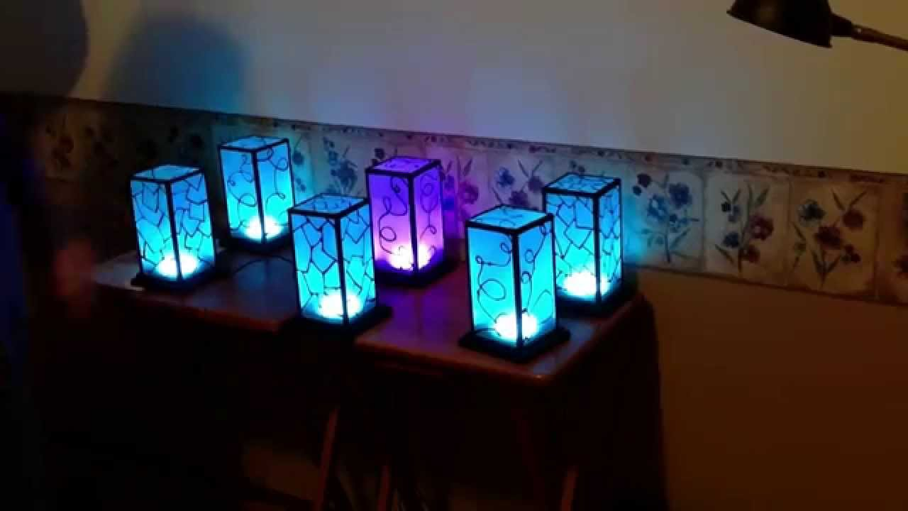 Networked Rgb Wi Fi Decorative Touch Lights Youtube