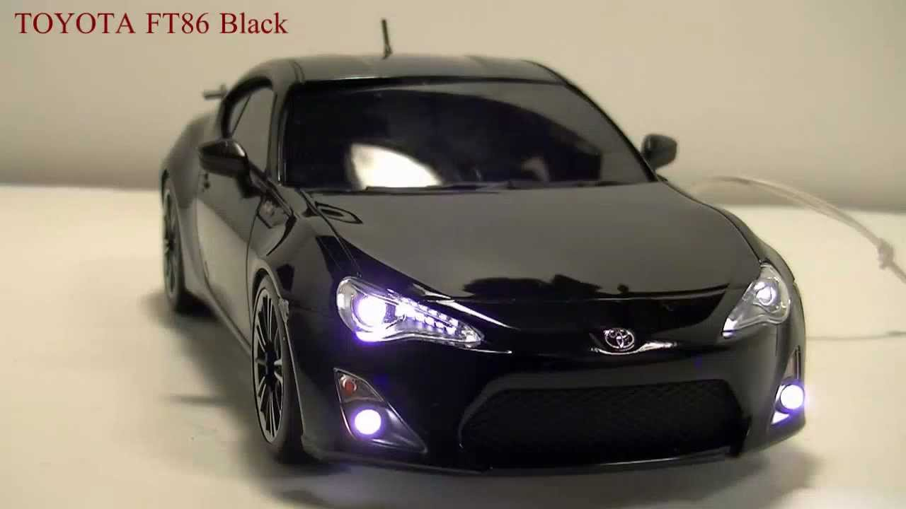 Toyota Ft 86 >> 【ミニッツ電飾】 TOYOTA FT-86 黒 【Mini-z Ligiht】 - YouTube