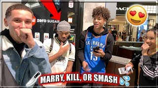 WHO WOULD YOU MARRY, KILL, OR SMASH? | Public Interview!