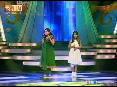 Super Singer T20   Madhu sings Ponvaanam from Indru Nee Naalai Naan   YouTube