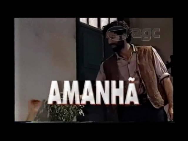 Rede Manchete - Tocaia Grande - Chamada - 1996