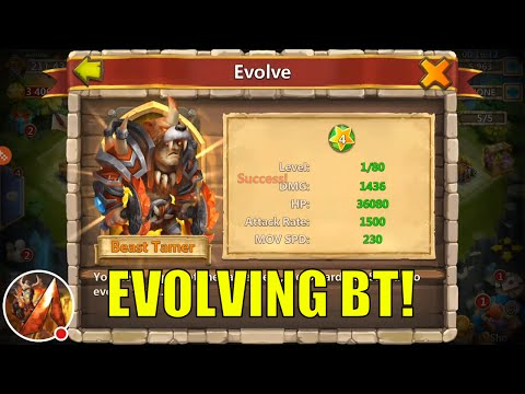 Castle Clash: Evolving Beast Tamer!
