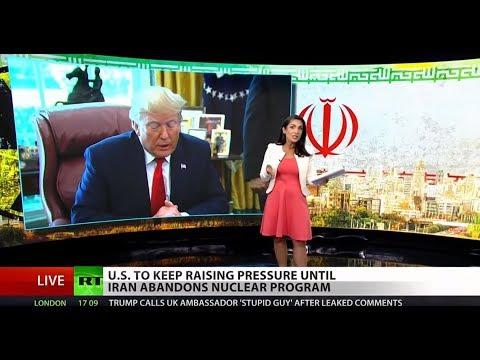 US 'maximum pressure' on Iran not working