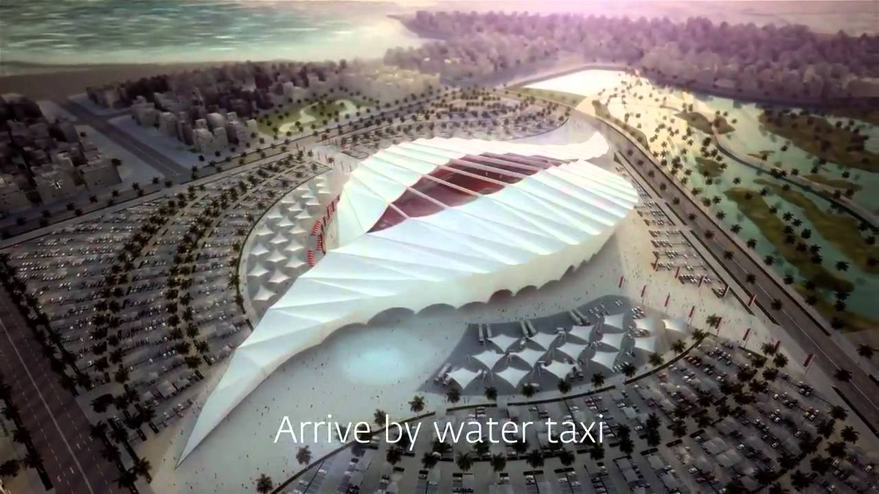 Cdm 2022 le qatar d voile 5 stades solaires pour 2022 youtube - Stade coupe du monde 2022 ...