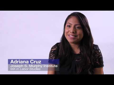 Why choose the Murphy Institute? - Adriana Cruz