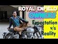 Bullet owners | Expectation Vs Reality  | Anil Aloysious Lobo