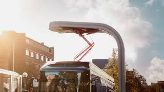 First Volvo full size autonomous  electric bus tested on NTUsgSmartCampus