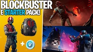 REVEALED THE SECRET SKIN OF THE FILMING AND NEW STARTER PACK! -Fortnite, the