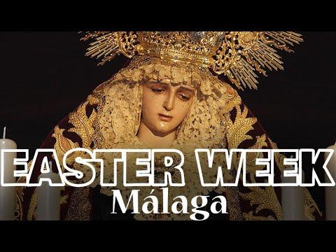 Easter Holy Week Processions In Malaga Semana Santa I