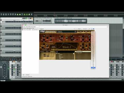 Dodo MIDI - Connect to Zebralette