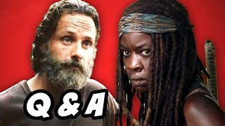 Walking Dead Season 5 Episode 11 Q&A - Alexandria Safe Zone