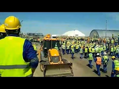Что происходит на Тенгизе. Причины забастовки и беспорядков в Атырауской области / БАСЕ