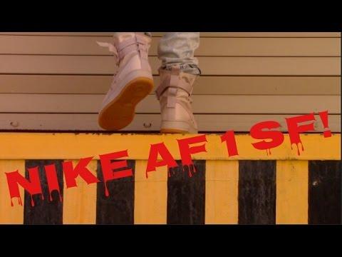 NIKE AF 1 SPECIAL FORCES ON FOOT