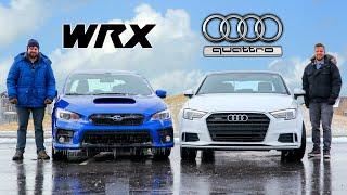 2020 Subaru WRX vs Audi A3 Quattro // Posh Meets Practical