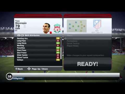 Fifa 13 - Player Review - IF Movsisyan
