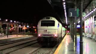 Renfe class 334 in Granada (setting aside)