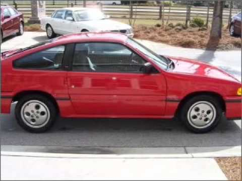 1986 Honda Civic CRX - Bluffton SC - YouTube