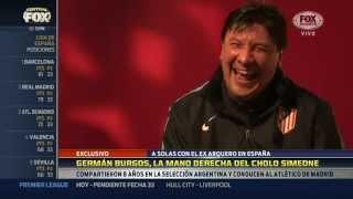 """El """"Mono"""" Burgos se separa de Simeone y deja el Atlético Madrid"""