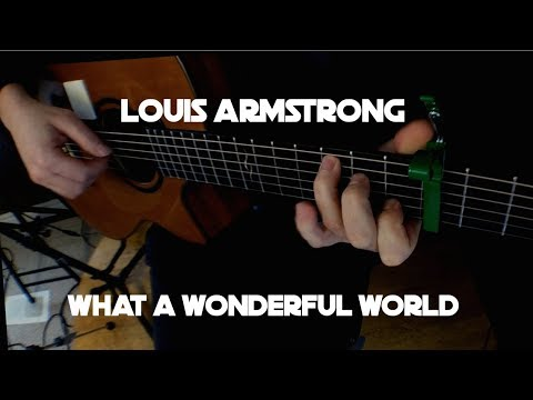 Kelly Valleau - What A Wonderful World (Louis Armstrong) - Fingerstyle Guitar