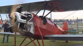 1930 Waco INF First Startup