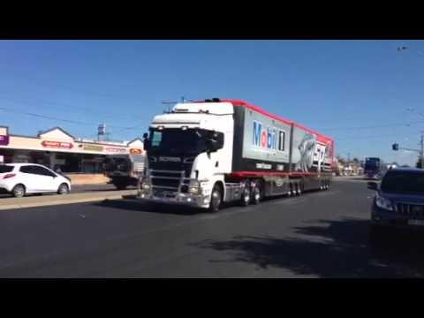 2014 V8Supercars Transporter Parade Townsville