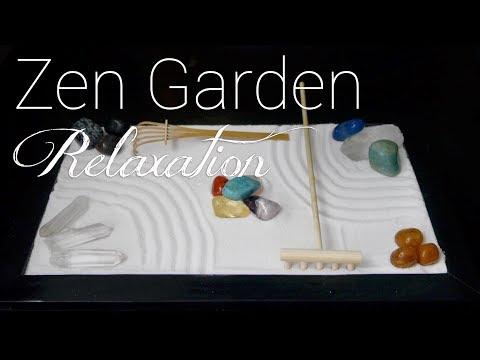Zen Garden Relaxation | Slow ASMR Sleep Sounds | No Talking & Unboxing