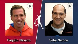 Cara a Cara World Padel Tour: Paquito Navarro VS Seba Nerone