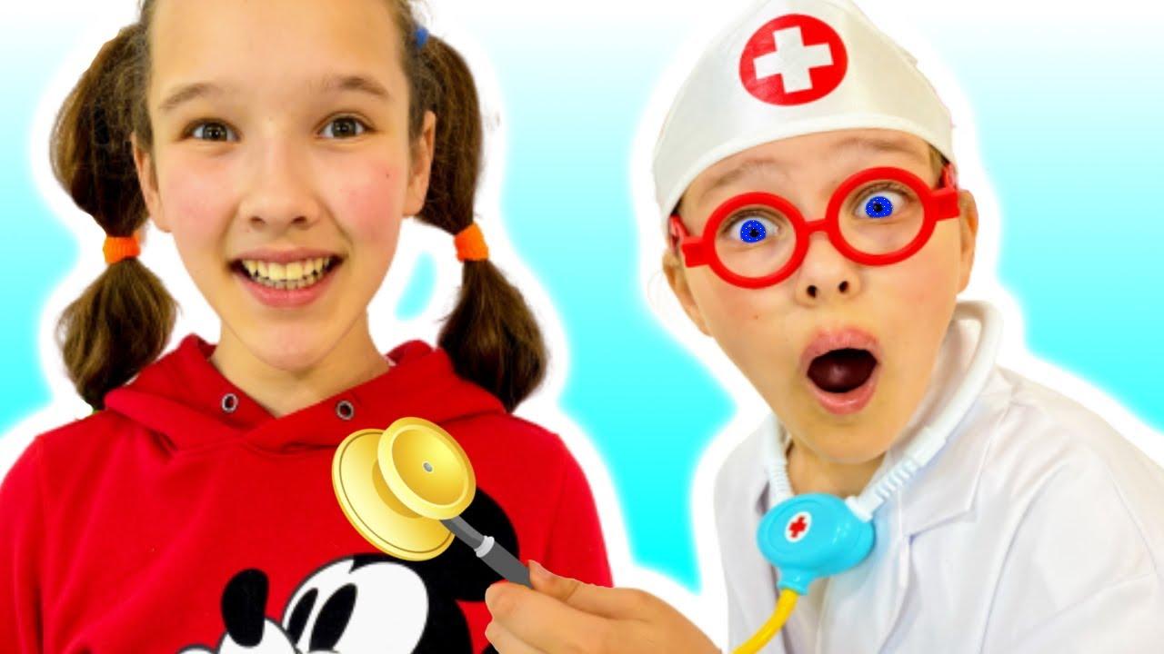 Doctor Cheсk Up Canción Infantil   Canciones Infantiles con Emi y Niki