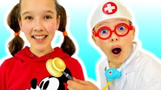 Doctor Cheсk Up Canción Infantil | Canciones Infantiles con Emi y Niki