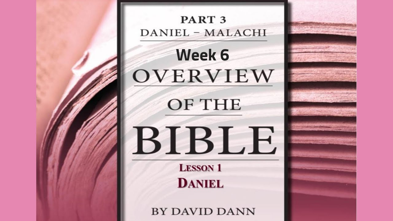 an examination of the book of daniel in the bible The books of the bible are the different sections of the bible each book has a different name most of the time the book is named after the person who maybe wrote the book although that is not always the case.