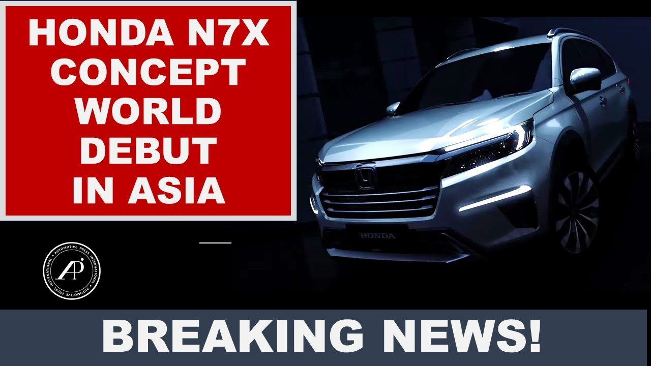 WORLD DEBUT HONDA N7X CONCEPT CAR IN ASIA: Honda creates a new car that combines SUV with a Minivan