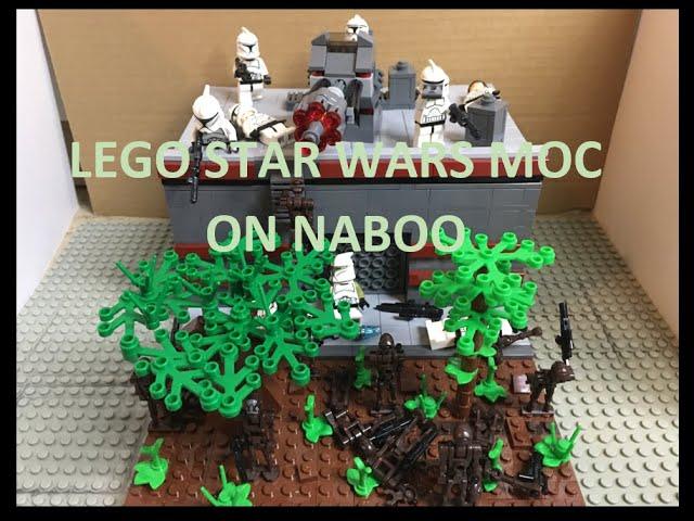 Lego Star Wars MOC on Naboo