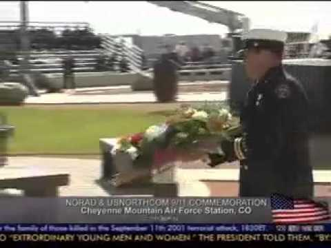 September 11th Ceremony at the Cheyenne Mountain Air Force Base