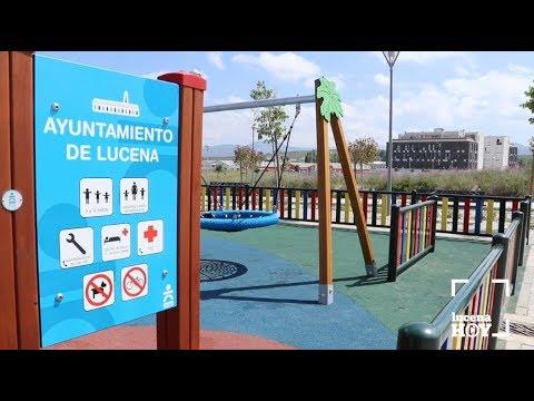 VÍDEO: Concluyen las obras de las nuevas zonas verdes y de ocio en El Zarpazo
