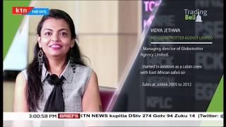 MD. Globetrotter agency Limited, Vidya Jethwa on Trading Bell