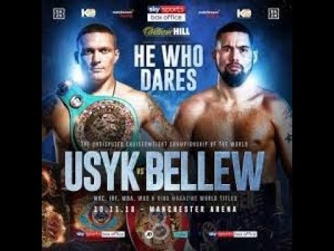 Dwyer 11-13-18 More On The Scoring of Usyk v. Bellew