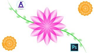 Flowers Design in Photoshop Hindi tutorial by Abc4You