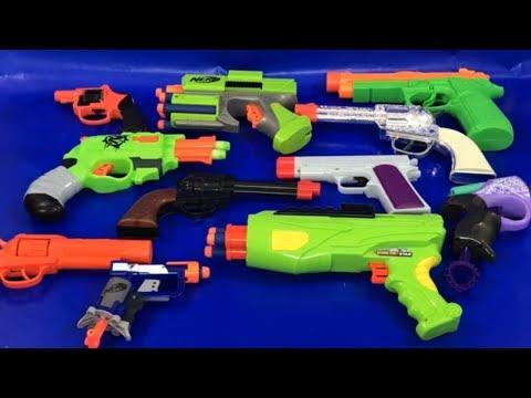 Box of Toys 🚨 Box Full of Toys 🔫 Toy Guns 🔫 NERF Guns 💥 Toys for Kids 🎁 Toy Weapons 🎉 Kids Fun