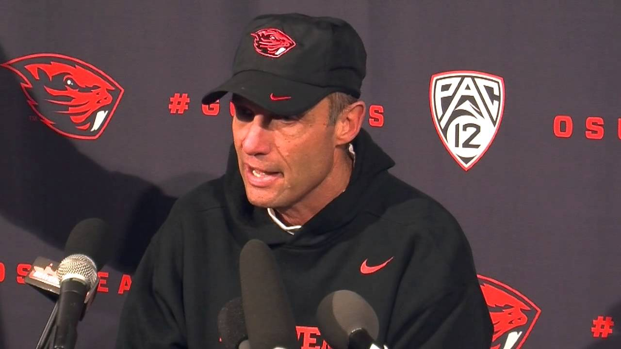 Oregon State football: Mike Riley after Beavers' 47-19 ...