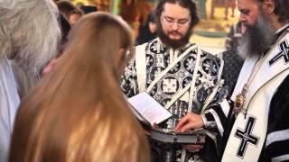 видео: Мантийный и рясофорный постриги во Введенской обители. 2016 г.