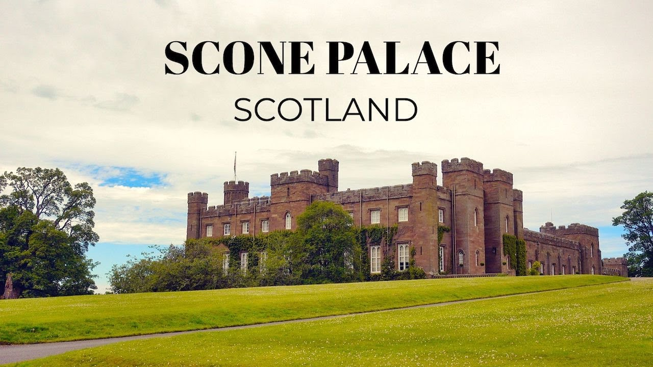 Exploring Scone Palace in Perthshire, Scotland