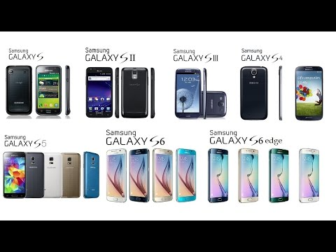 Samsung Galaxy S All Generations