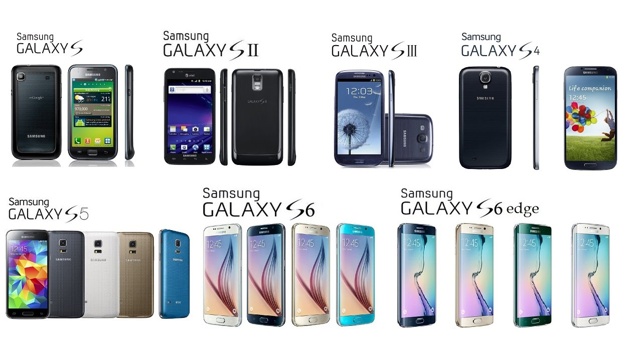samsung galaxy s all generations   youtube