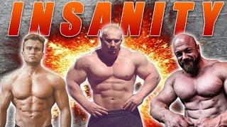 Drei Giganten! Powerlifting Wettkampf Insanity Meet