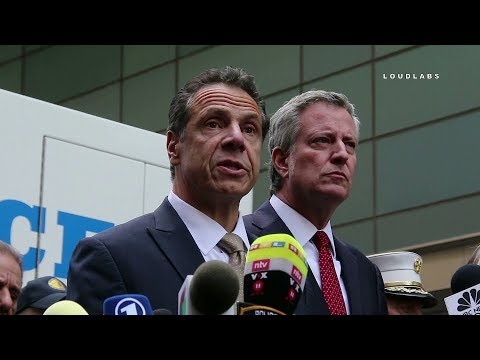Press Conference: Bomb Found at NYC CNN Office