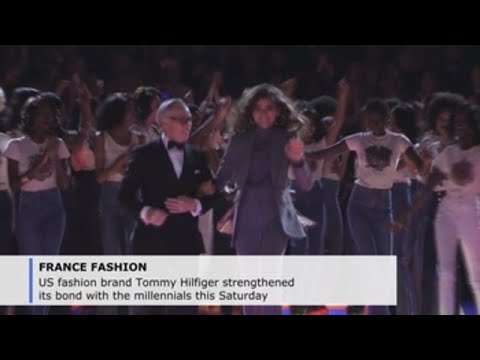 83954ed9 Tommy Hilfiger, Zendaya bring back the days of Disco, debut collaboration  in Paris