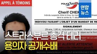 프랑스 경찰 '스트라스부르 총격 테러' 용의자 공개수배 / 연합뉴스 (Yonhapnews)
