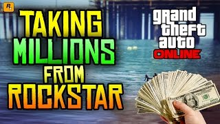 GTA 5 Money Glitch - TAKING MILLIONS FROM ROCKSTAR! (GTA 5 Online News - What Happened?)