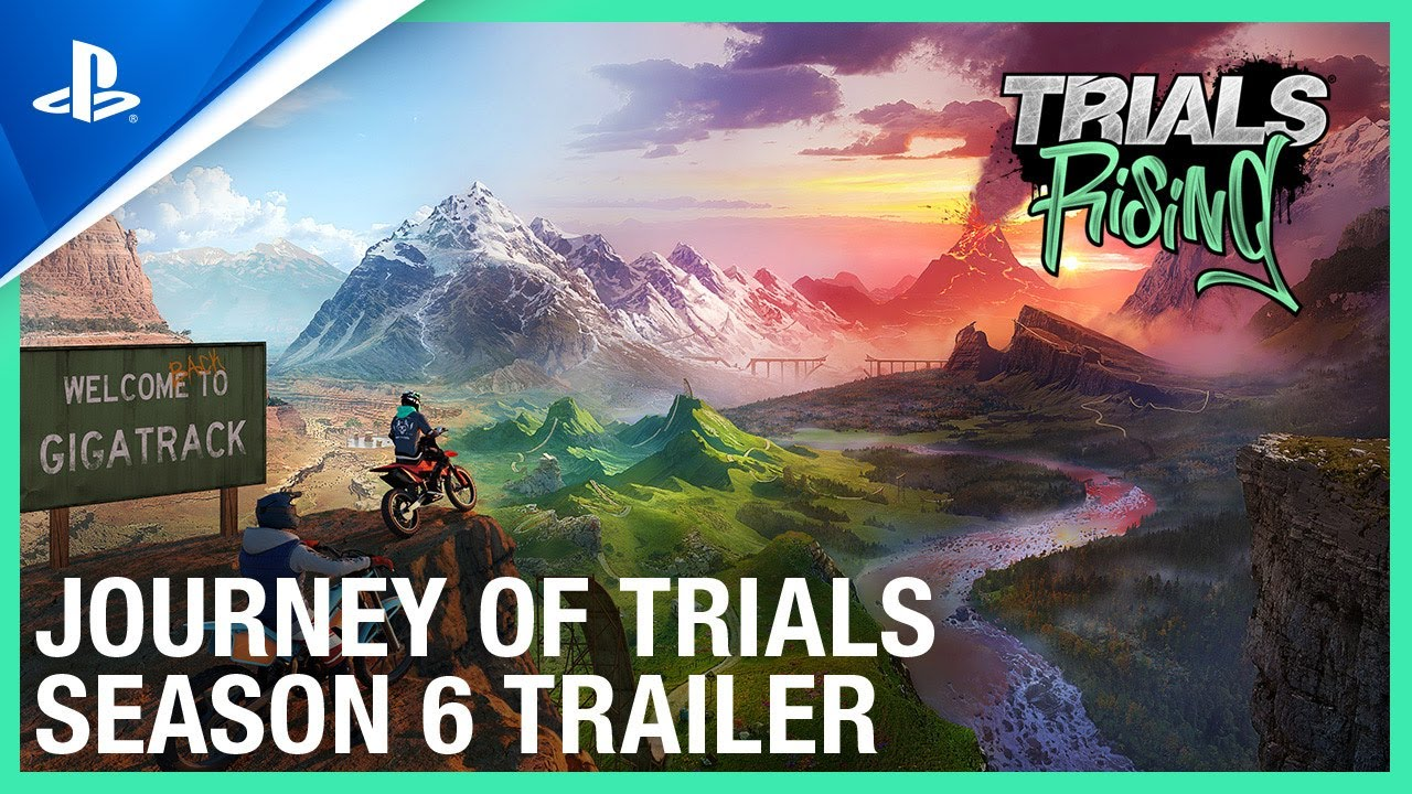 Trials Rising: Journey of Trials - Season 6 Trailer | PS4